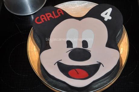 tarta mickey mouse FONDANT 14