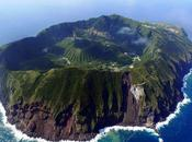 isla volcánica Aogashima
