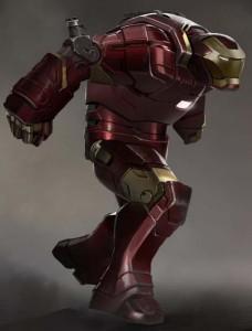 Diseño de Iron Man 3 con Hulkbuster