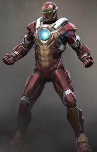 Diseño de una armadura para Iron Man 3