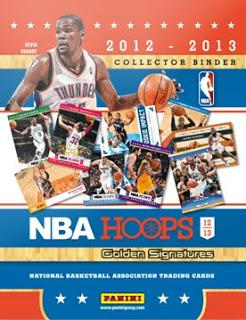NBA Hoops 2012-13 Golden Signature