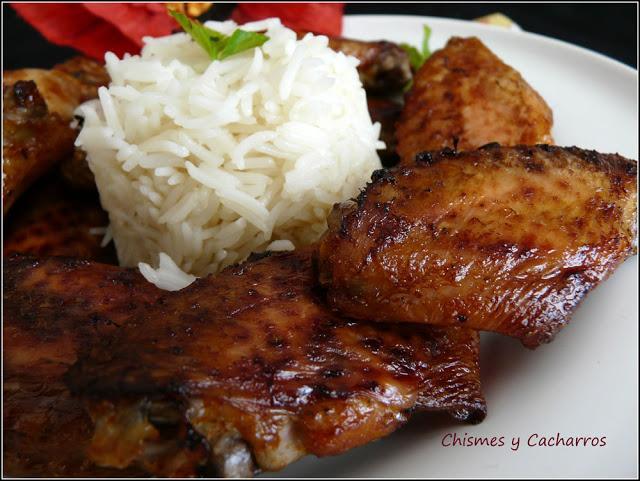 Alitas de pollo en adobo paperblog - Adobo de alitas de pollo ...