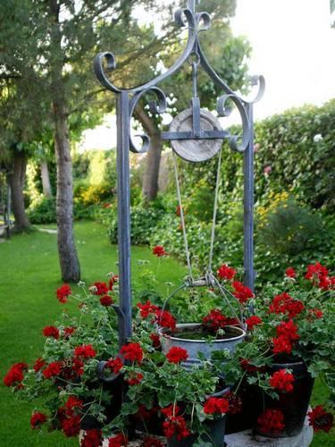 Hacer un pozo en el jard n paperblog for Cubo de luz para jardin