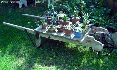 Decora tu jardin con cosas antiguas paperblog - Cosas antiguas para decorar ...