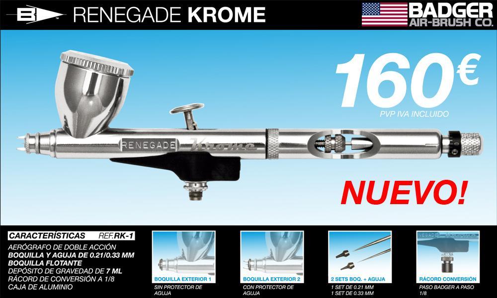 Armorama :: Badger Airbrush Renegade Krome Review
