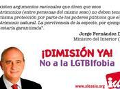 ALEAS-IU exige inmediata dimisión Jorge Fernández Díaz, Ministro Interior, declaraciones contra dignidad colectivo LGTBI