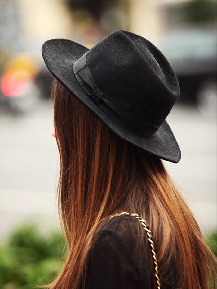 el sombrero black single women 8 remate del sombrero (panama hat) terminada la falda del sombrero, se remata alrededor de todo el sombrero de izquierda a derecha, sin cortar las pajas sobrantes.