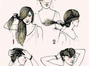 Trenzas, chignones otros peinados molones