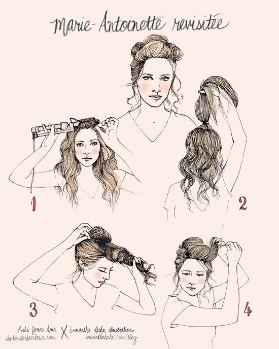 Los bálsamos y las máscaras para los cabellos del vídeo
