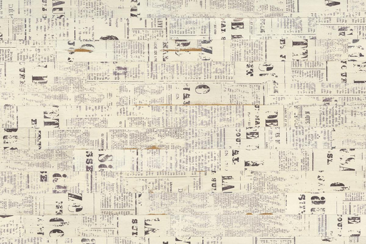 Revestir las habitaciones de papel de peri dicos paperblog for Papel pintado imitacion periodico