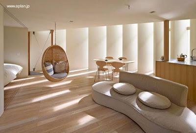 Casa ultra moderna japonesa paperblog for Espacios interiores de casas modernas