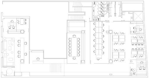 A cero presenta un proyecto de interiorismo para las for Croquis de oficinas administrativas