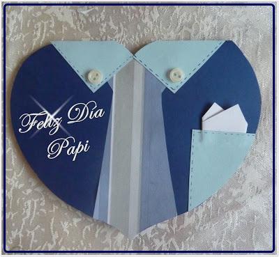 Tarjeta Paso A Paso Para El Dia Del Padre Paperblog