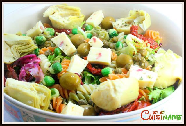 Ensaladas originales exquisita ensalada de pasta for Ideas ensaladas originales