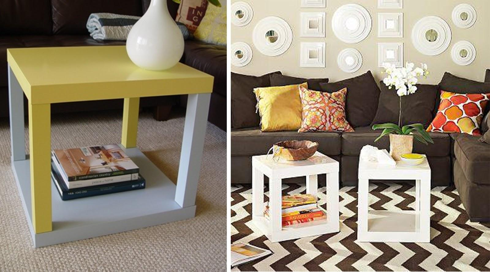 Ikea hacker decora tu mesa lack paperblog - Ikea mesa blanca ...