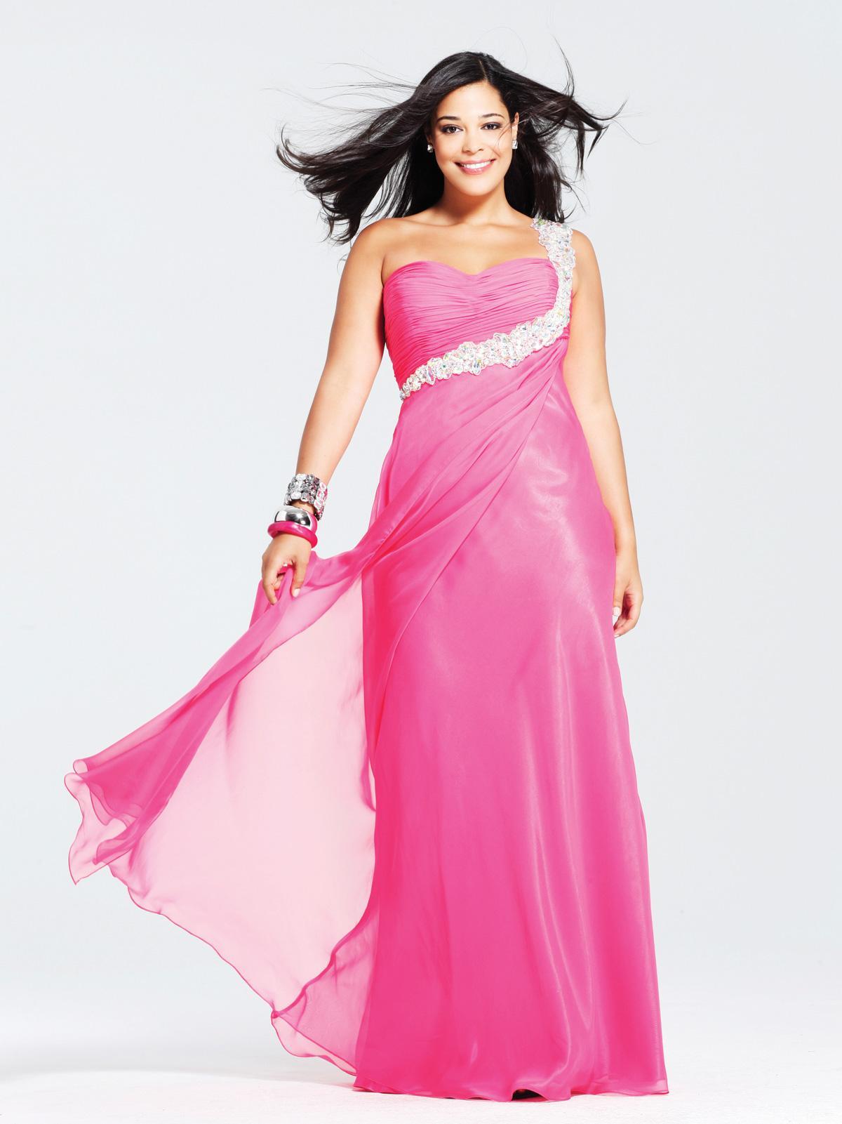 841b8ba2ff6f Fotos de vestidos de fiesta talla plus - Paperblog