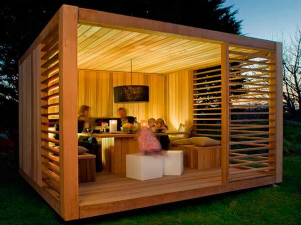 Refugios y casetas para el jard n paperblog - Refugios de madera prefabricados ...