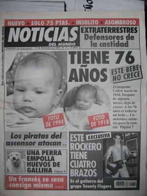 39 noticias del mundo 39 una revista de humor en los 90 for Noticias del mundo del espectaculo hoy