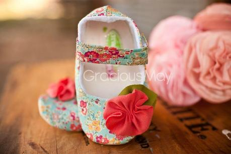 Gracious May, calzado hecho a mano para el bebé