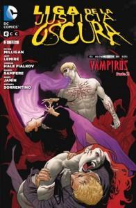 La Liga de la Justicia Oscura se enfrenta a los Vampiros...