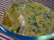 Salsa queso chedar para nachos