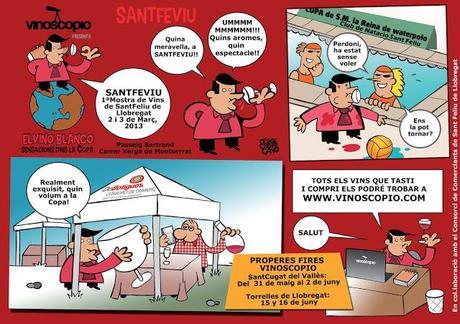 SANTFEVIU, 1ªMostra de Vins de Sant Feliu de Llobregat