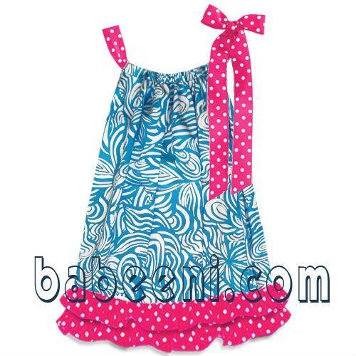 Como tejer vestido de niña - Imagui