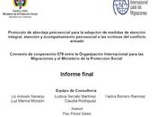 Protocolo abordaje psicosocial atención integral víctimas conflicto armado Arévalo col. (MPS-OIM)