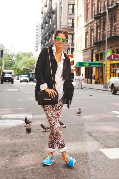 Street Style: Running Sneakers