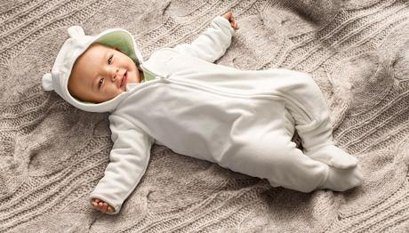 H&M; niños, ropa de algodón orgánico para el bebé