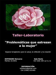 PROBLEMÁTICAS QUE ESTRESAN A LA MUJER: Taller-Laboratorio