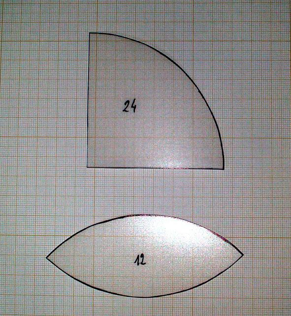 Tutorial pelota patchwork moldes en acetato