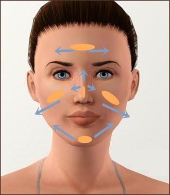 como difuminar la base de maquillaje
