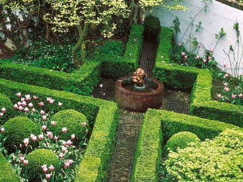 Las l neas rectas en el dise o de jardines paperblog - Diseno de paisajes y jardines ...