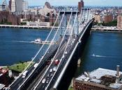 reconstrucción Puente Manhattan Nueva York Estados Unidos