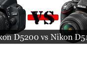 Comparación: Nikon D5200 D5100