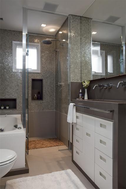 Baños Con Jacuzzi Pequenos:Cuartos de baño pequeños bien distribuidos – Paperblog