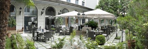 Una terraza de ensue o en el jard n de recoletos paperblog - Restaurante el jardin de recoletos ...