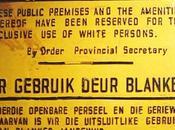 Apartheid. institucionalización segregación