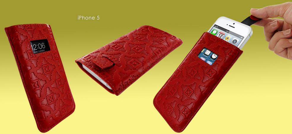 Piel frama fundas para iphone 5 conquistan al primer toque paperblog - Funda de piel para iphone 5 ...