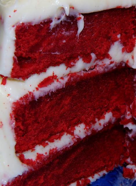 """Layer cake """"red velvet"""" - Paperblog"""