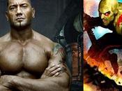 Dave Bautista será Drax 'Guardians Galaxy'