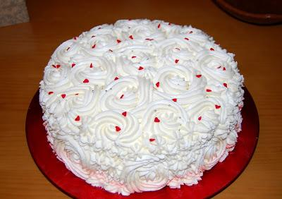 Tarta red velvet con nata y mascarpone paperblog - Tarta red velvet alma obregon ...