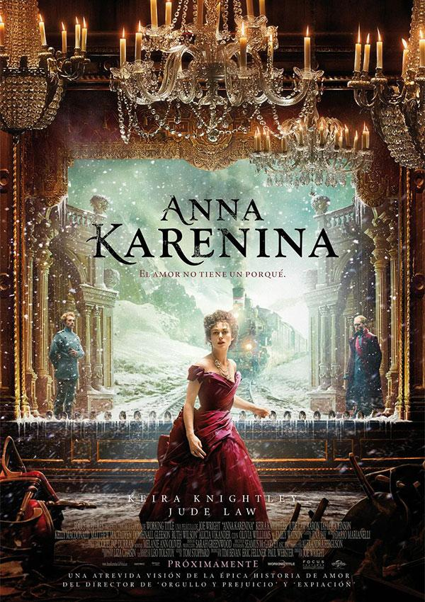 Póster: Anna Karenina (Joe Wright, 2.012)
