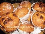 Magdalenas nata, tradicionales chocolate