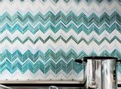 Cocinas Interiores Modernos: Azulejos Turquesas Sacks