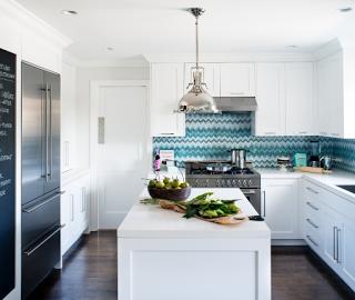 cocinas en interiores modernos azulejos turquesas ann sacks with azulejos cocina modernos with azulejos de cocina modernos - Azulejos De Cocina Modernos