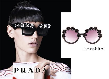 ss13 clones gafas de sol prada bershka El ataque de los clones: pide un (clon)deseo