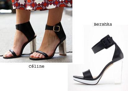 ss13 clones zapatos celine zara El ataque de los clones: pide un (clon)deseo