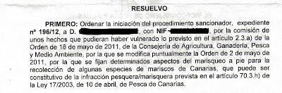 Amigos de Anaga, exige la Colocación de Carteles con información sobre el marisqueo y sus vedas.